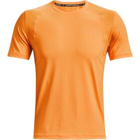 Under Armour Isochill Run 200 Short Sleeve Shirt Men, oranje